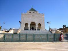 MARROCOS - Mausoléu de Mohammed V