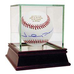Johnny Damon Autographed and Engraved Career Stats MLB Baseball