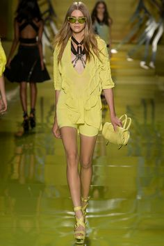 Versace Spring 2014 Ready-to-Wear Collection Slideshow on Style.com naughty but nice