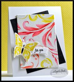 Sweet 'n Sassy Stamps: Friday Feature: Leafy Flourish Background & More