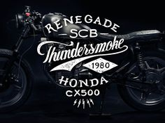 Typography and Motorcycles Go Together Like Coffee and Cake (20 Artworks)