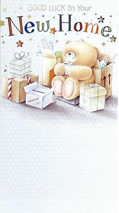 Forever friends new home Teddy Beer, Celebration Love, Friend Cartoon, Teddy Bear Pictures, Blue Nose Friends, Bear Card, Decoupage, Love Bear, Tatty Teddy