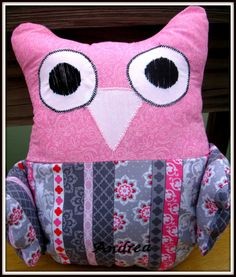 OWL+Toy+++Baby+Gift+Baby+Shower+Gift+by+timestotreasure+on+Etsy #craftshout0208