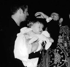 George Michael blessing his Godson Harrisson  Anselmo Georgiou #Rockthestory #AndrosGeorgiou #GeorgeMichael www.androsgeorgiou.com