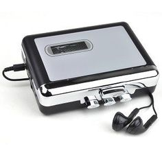 USB Cassette Deck Converter by Generic. $21.03. Dimensions: 5.25x5x1.75Package Includes:USB 2.0 Cassette to MP3 Sound Converter 3-inch type ConversionCD Manual USB cableAdditional Information:Product Requirements: Available USB port CD-ROM drive Two (2) AA batteriesHeadphones or speakers with 3.5 mm audio jack