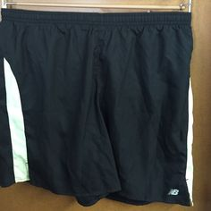 New Balance, Kinetic Short Black with cream stripe, kinetic shorts. Nwt New Balance Shorts