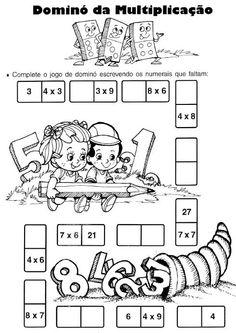 Pedagógiccos: Multiplicação - atividades