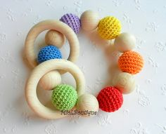 Baby Toy Baby teether  from MioLBoutique by DaWanda.com