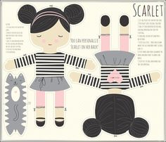 SCARLET_black_hair fabric by stacyiesthsu on Spoonflower - custom fabric