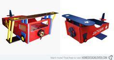 15 Transportation Themed Toddler Beds | Home Design Lover
