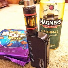 Settling down for the evening with my kanger sub tank lowered by @officialcoilart twisted wire paired with cadburys boost and an ice cold magners cider! Lovely!  How are you all chilling out tonight?  @whitehousevapes @tokenvape @icevapers @vapehousehi @efest_company @mb.boxmods  @oemstreetbrew @modernvapes @mvapesuk @vapeyez @customwoodeu @wulfmods @eclearvape @expectresistancevapes @armlet_official @throwbackjuiceco @pickledbrews @7monkseliquid @vapeboss_ @officialcoilart @tazze_box_mods…
