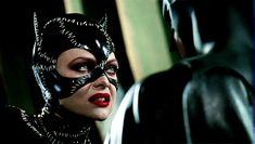 Batman and Catwoman from Batman Returns Batman Fight, Real Batman, Batman Fan Art, Batman 2, Superman, Catwoman Selina Kyle, Batman And Catwoman, Batgirl, Michelle Pfeiffer