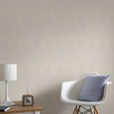Optimum Cream Wallpaper by Graham and Brown