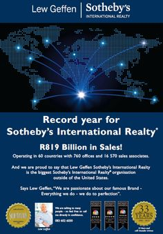 Record Year for Sotheby's International Realty. United States, The Unit, Country, Organization, Rural Area, Country Music
