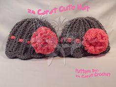 24 Carat Cute Hat Pattern By: 24 Carat Crochet