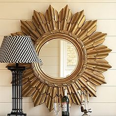 0875ce8747bef sunburst mirror Gold Sunburst Mirror