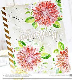 Embellishing Watercolor Cards with Joni