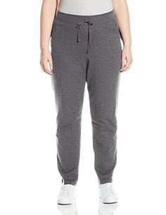 Just My Size Women's Plus French Terry Pant at Amazon Women's Clothing store: