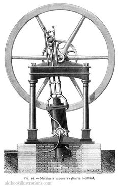 This picture was taken from emLa vapeur (Steam)/em, by A. Guillemin, Paris, 1876.