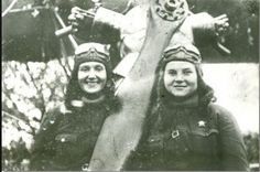 Pilots Tatyana Makarova (1920-1944) and Vera Beljik (1921-1944) both fought and died during their service with the 588th Night Bomber Regiment. Both were awarded the Heroine of the Soviet Union Star posthumusly.