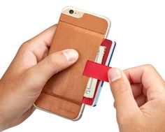 Wally Stick-On Wallet for iPhone 6