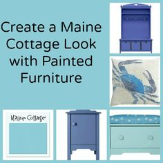 Create a Cozy Cottage Look with Painted Furniture