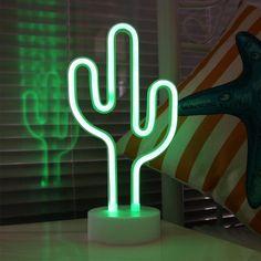 Cactus LED Nightlight