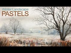 Learn how to draw or paint a winter landscape with pastels and pastel pencils in this lesson. Although most of the landscape is white, the complementary colo. Landscape Sketch, Pastel Landscape, Landscape Drawings, Cool Landscapes, Winter Landscape, Landscape Paintings, Landscape Design, Pastel Artwork, Oil Pastel Art