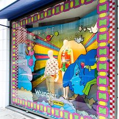 WEBSTA @ colette - #WranglerbyPeterMax exclusively at #colette in France @wrangler_europe @petermaxart #wranglerisback #70yearswrangler #colettewindow