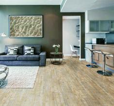Bravado Laminate Flooring Pine Caramel 21 36 Sq Ft Ctn At Menards
