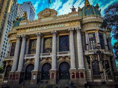 Teatro Municipal #Brasil #Downtown #iPhone #landmark #RiodeJaneiro #teatromunicipal
