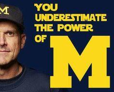 GO BLUE! U Of M Football, College Football Coaches, Detroit Lions Football, Football Season, Michigan Athletics, Michigan Wolverines Football, University Of Michigan, Lsu, Michigan Quotes