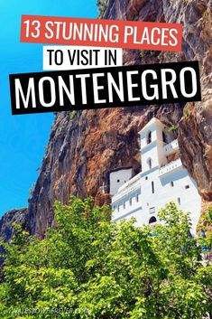 Montenegro is one of the most underrated countries in Europe, and if it's not already on your travel bucket list then you need to change that STAT. From breath-taking natural wonders to medieval villages and immense hiking opportunities, Montenegro Europe Destinations, Europe Travel Guide, Travel Guides, Europe Packing, Travel Expert, Travel Checklist, Backpacking Europe, Travel Info, Packing Tips