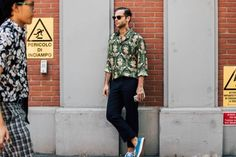 Milan Fashion Week Men's Street Style | British Vogue
