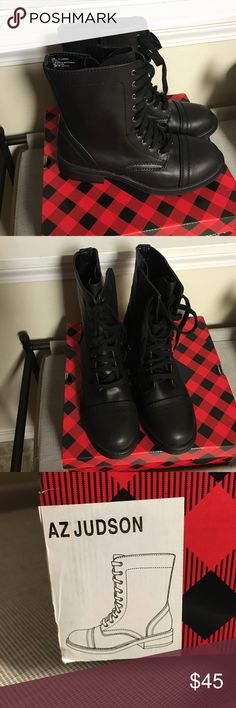 ⭐️NWT⭐️Arizona Jeans Combat boots Just bought these boots and realized I don't want them. They're brand new!! Arizona Jean Company Shoes Combat & Moto Boots