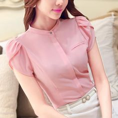 Cheap shirt hiphop, Buy Quality shirt white directly from China shirt short Suppliers: 2016 Blouses Shirts Women's Clothes TurnDown Collar female Shirt Long Sleeve Lady Professional Formal Blouse Tops autumn Supernatural Style Ladies Shirts Formal, Formal Blouses, Formal Wear Women, Cute Blouses, Shirt Blouses, Blouses For Women, Formal Tops For Women, Stand Collar Shirt, Collar Shirts