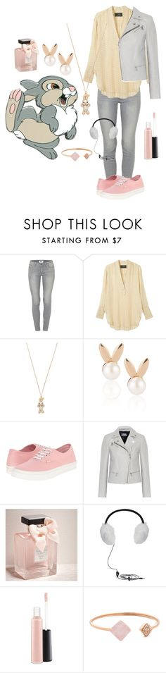 """""""Thumper inspired."""" by gema-z ❤ liked on Polyvore featuring Disney, Paige Denim, By Malene Birger, Forever 21, Aamaya by priyanka, Vans, Karl Lagerfeld, Abercrombie & Fitch, BCBGMAXAZRIA and MAC Cosmetics"""