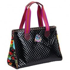 Grande Maria Tote by Consuela Style - the perfect carry on for your summer vacations!