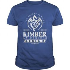 I Love The Legend Is Alive KIMBER An Endless Legend T shirts