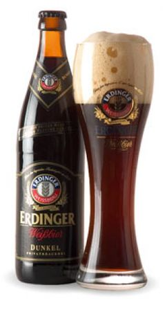 This traditional Dunkelweizen from a great German brewery, Erdinger, will sure and please the lover of great weizen style brews. Darker with more complex malts than a Hefeweizen, this is a great winter beer. 4.5 stars out of 5.