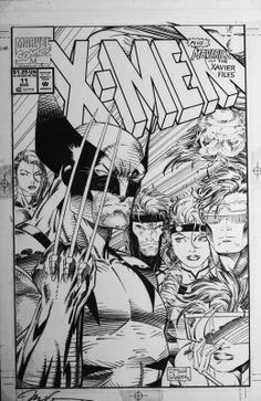 X-Men #11 cover | Jim Lee