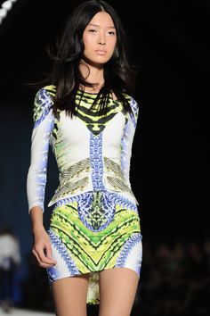 #JustCavalli SS 2013 Runway Show - Detail
