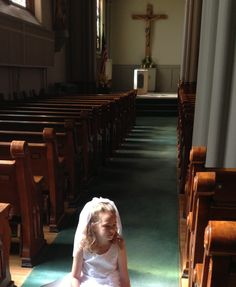 Emily's first communion.