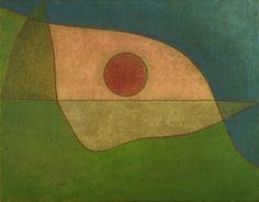 Paul Klee (1879 - 1940) Gaze of Silence (Blick der Stille), 1932