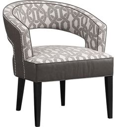 Campbell Chair - contemporary - chairs - Crate