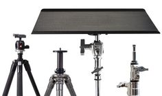 Tether Table Aero Master mounts to any of these stands, no adapters needed.