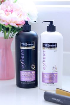 Damaged Hair Repaired with TRESemmé Repair & Protect #SamsClubHairCollection #ad
