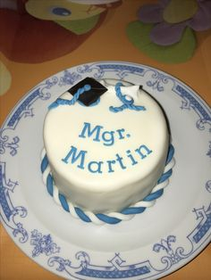 Graduation cake - Magister