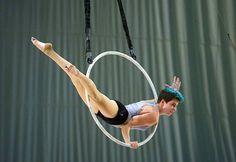 Aerial Lyra, Rachel Stewart of Esh