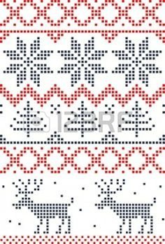 Scandinavian Christmas cross stitch Could be a knitting pattern Xmas Cross Stitch, Cross Stitch Charts, Cross Stitch Designs, Cross Stitching, Cross Stitch Embroidery, Cross Stitch Patterns, Cross Stitch Stocking, Christmas Embroidery, Christmas Knitting